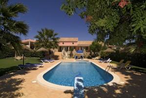 Private Ferienwohnung in ländlicher Umgebung von Lagos, Algarve.