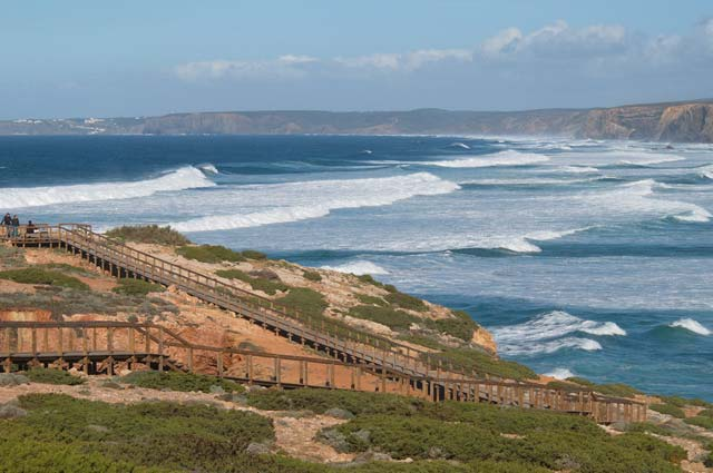 Algarve Westküste bei Caraparteira