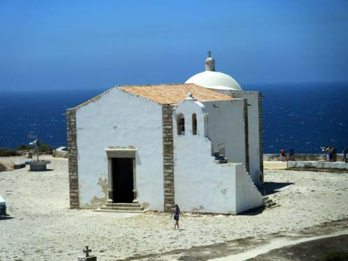 Sagres, Portugal: Kapelle Santa Catarina