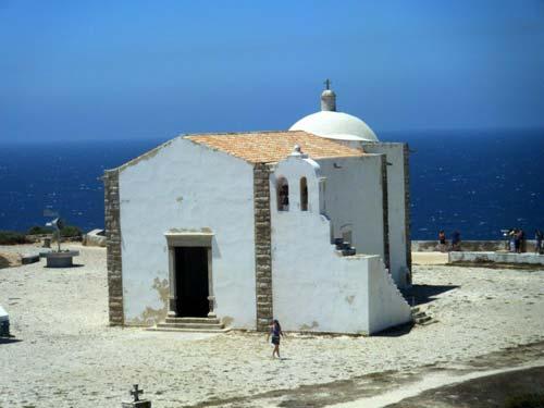 Sagres, Portugal: Kapelle Santa Catarina