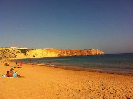 Strand bei Sagres, Portugal