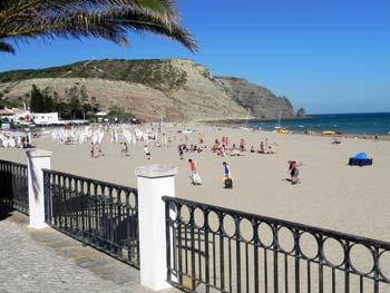 Strand von Praia da Luz, Algarve